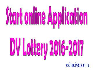 Diversity Visa Lottery 2016-2016 (DV Lottery 2016-2017)