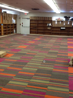 Carpet in Little Falls children's area