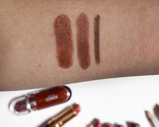 lipstick, liquid lipstick, lip liner and balms collection 2017, brown lipsticks
