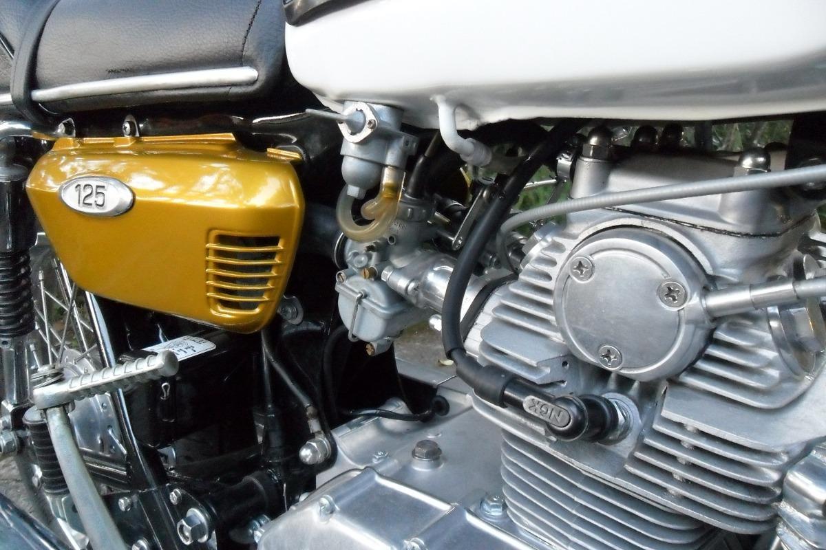 Mesin Honda CB125 Twin