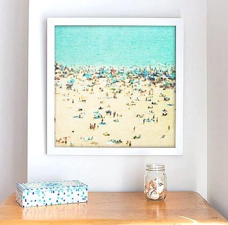 beach wall art photograph
