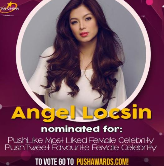 THROWBACK: Angel Locsin Got Nominated For PUSH.com Awards!