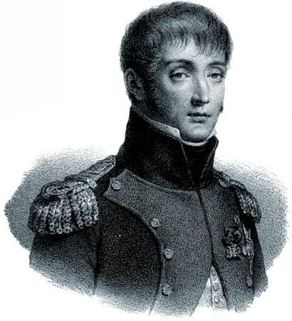 Louis Bonaparte, litografía, c. 1830.