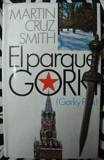 Portada del libro El parque Gorki, de Martin Cruz Smith