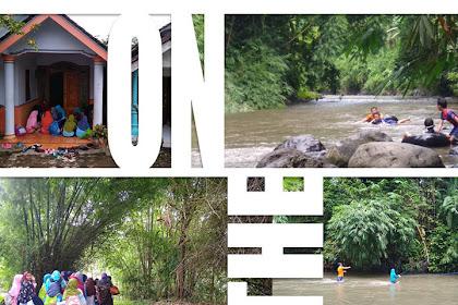 Melihat Serunya Kelas Alam Bumi Jatayu Tubing ke Sungai Karanganom Pasrujambe