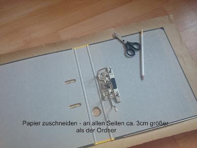 [DIY] DIN-A 4 Ordner gestalten