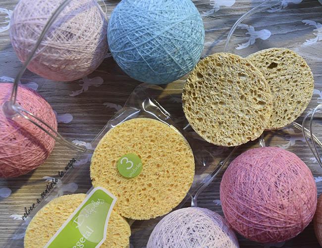 Esponjas vegetales de Mercadona