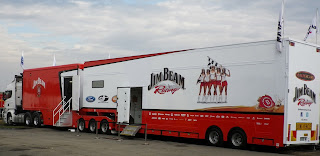 JIM BEAM RACE CAR CARRIER TRUCK