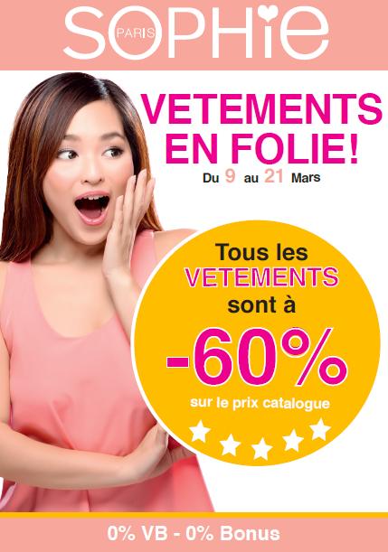 promotion sophie paris mars 2016