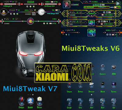 Tutorial Module MIUI8Tweaks Update V6 & V7 Terbaru For Xiaomi