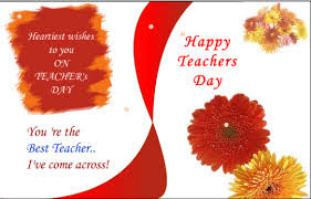 Happy teachers day greetings 2016
