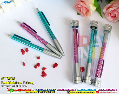 Pen Stainless Tabung