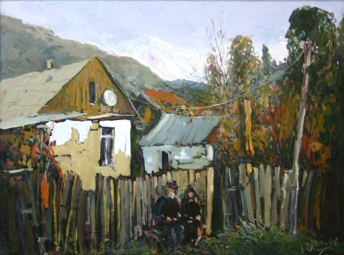 Российский художник. Александр Отрошко