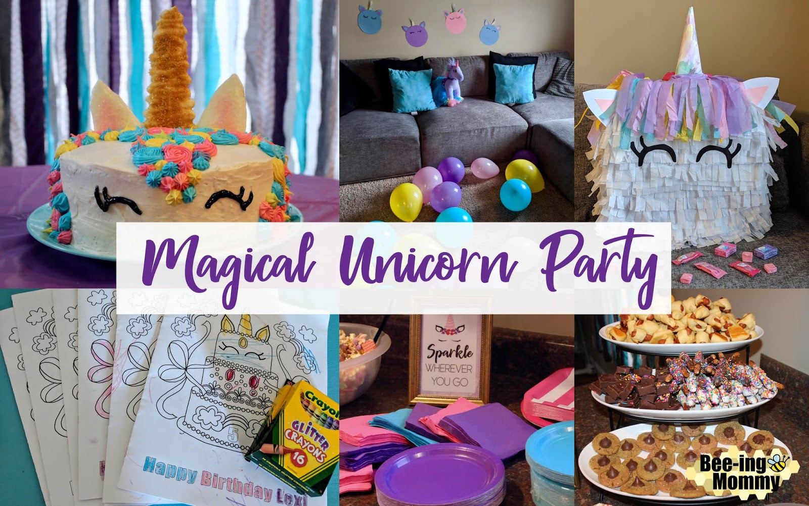 Diy Party Magical Unicorn Birthday Party