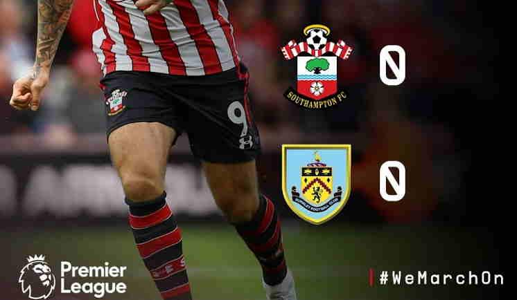 Hasil Southampton vs Burnley Skor Akhir 0-0 [Premier League 2018]