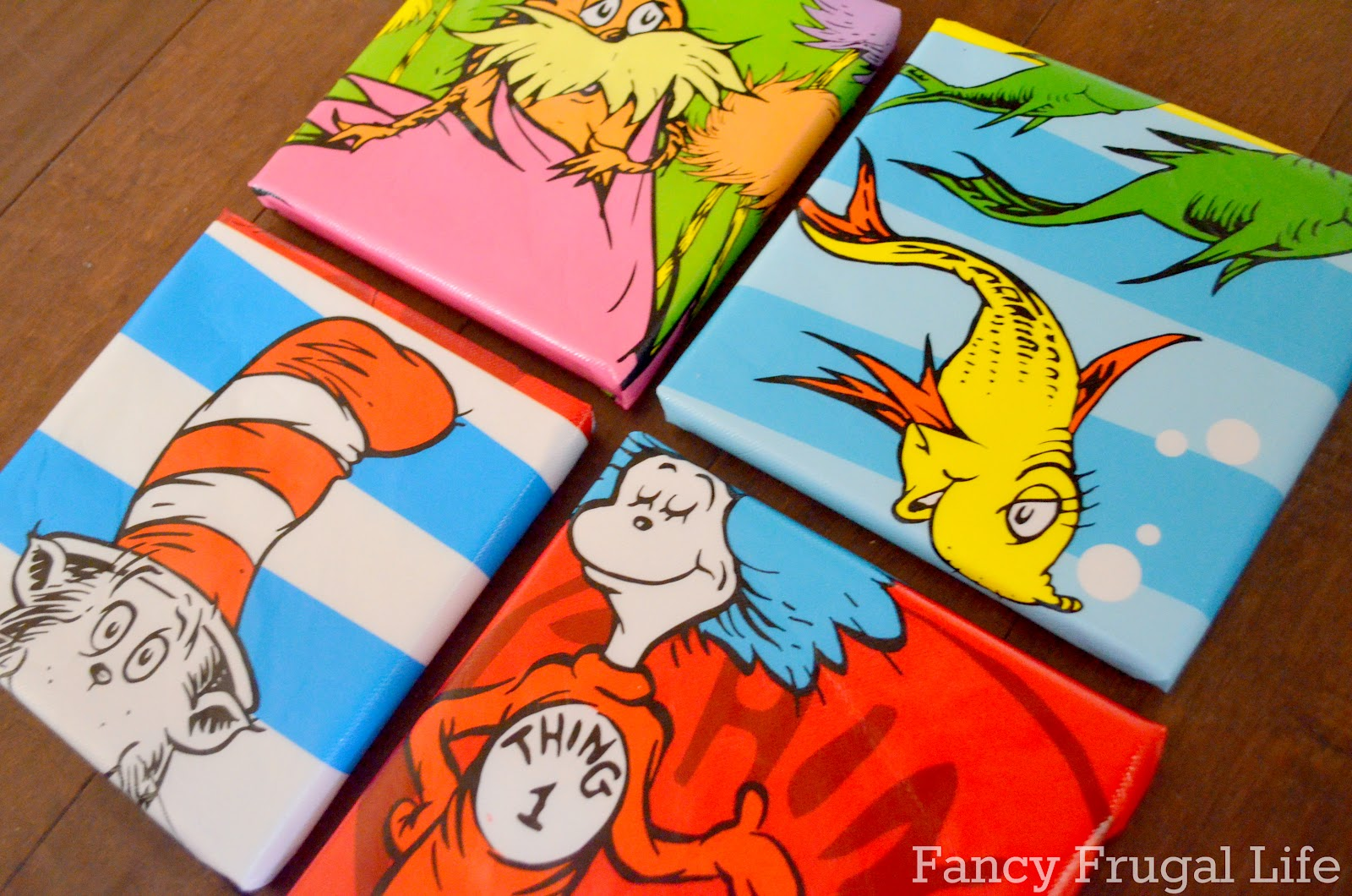$1 Bin Dr. Seuss Wall Art & READ letters