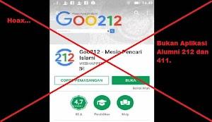 Waspada ! Aplikasi Goo212, Isinya Menjelekkan Islam