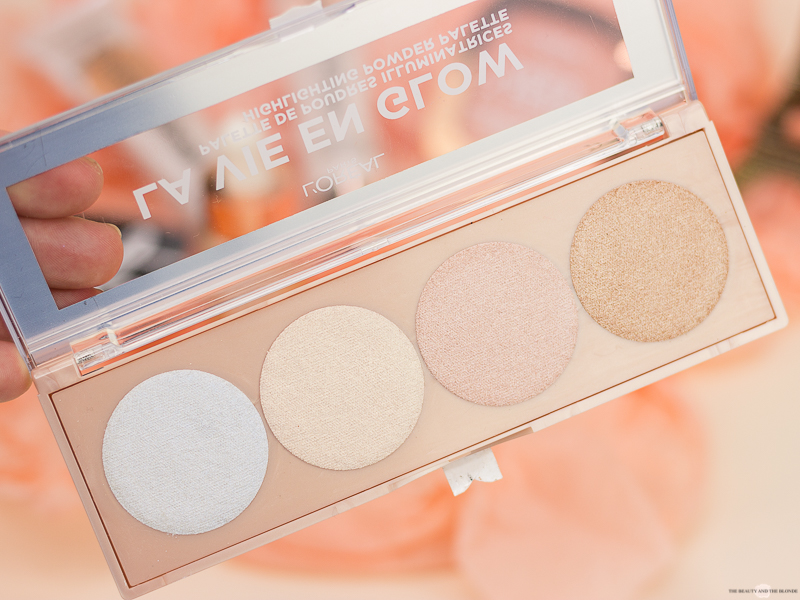 L'Oréal Wake Up And Glow Sommerkollektion Summer Collection La Vie En Glow Highlighter Palette