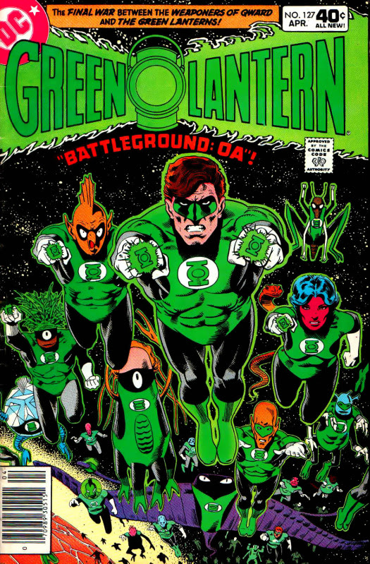 Green lantern corps comic cover - photo#15