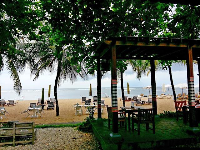 хороший пляжный отель на бали