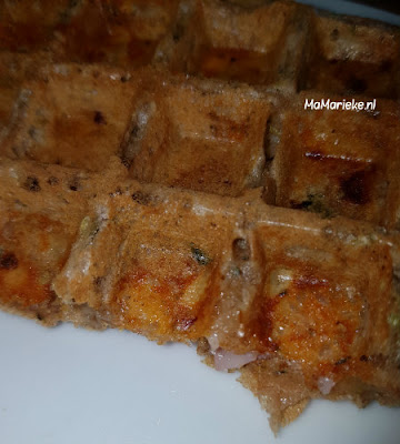 recept hartige glutenvrije wafels