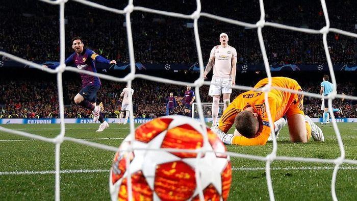 Hasil Liga Champions: Barcelona Hajar Man United 3-0