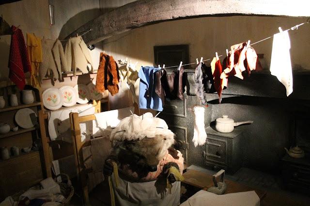 visit Mrs Tiggy-Winkle's Kitchen at Beatrix Potter exhibition LD