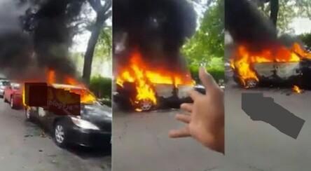 Adulterous Wife Burns Husband's Car Over Divorce