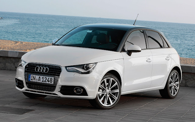 The Audi A1 Sportback front