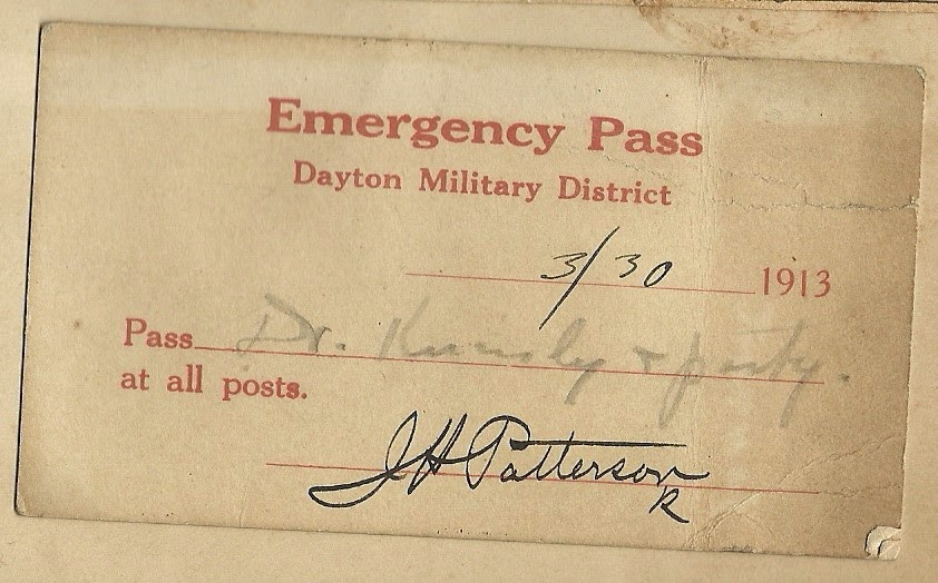 From Matt Yanney collection, 1913 Dayton flood