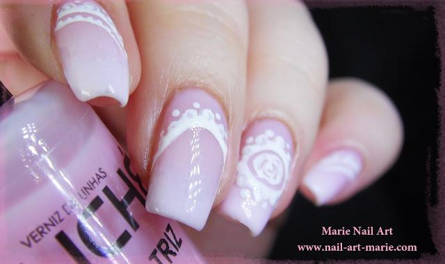 Nail Art Baby Boomer6