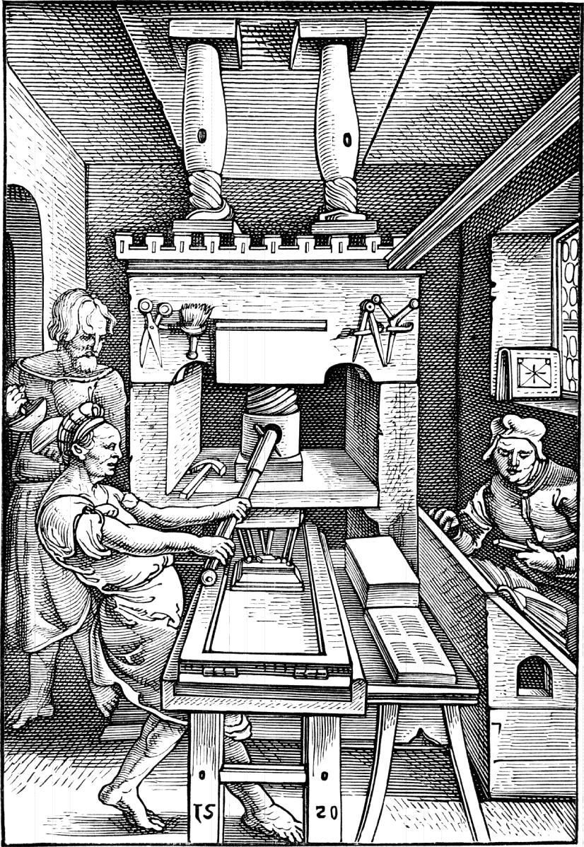 printing press renaissance