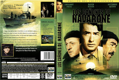 Cover, Dvd, Caratula: Los cañones de Navarone | 1961 | The Guns of Navarone