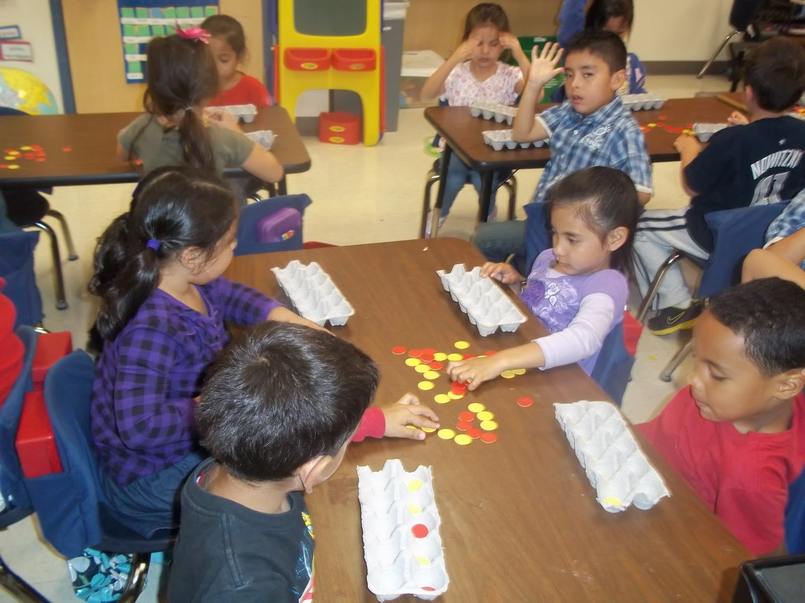 Kinder Garden: Mrs. Wood's Kindergarten Class: 10 Frame