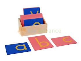 Montessori Sandpaper Letters in Print