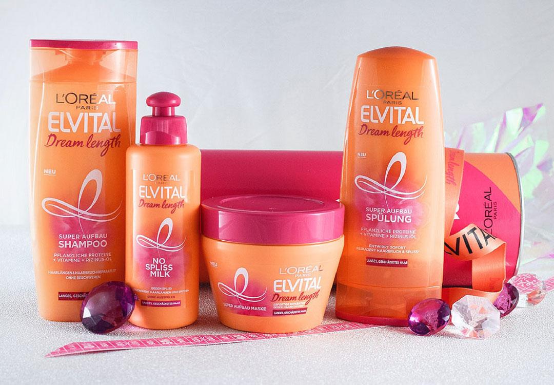 wie gut ist Elvital Dream Length Pflegeserie für lange Haare