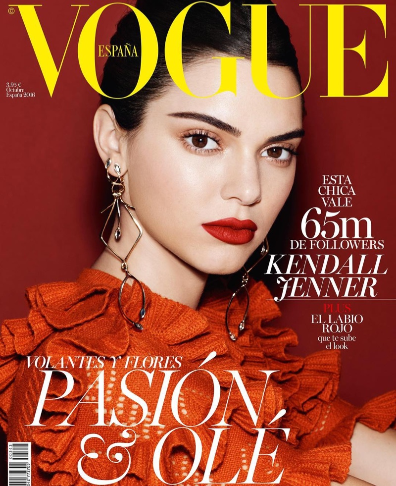 Kendall Jenner turns ballerina for Vogue Spain