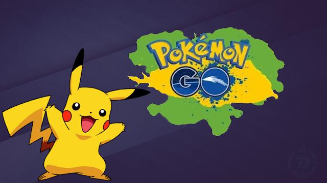 Pokemon GO - Dados coletados
