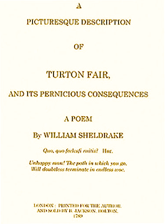 A Picturesque Description of Turton Fair, and Its Pernicious Consequences
