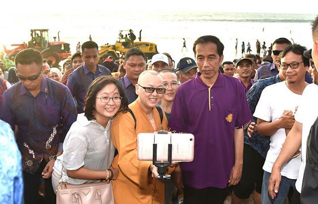 Jokowi Gagal Sumbang Devisa Negara dari Turis China