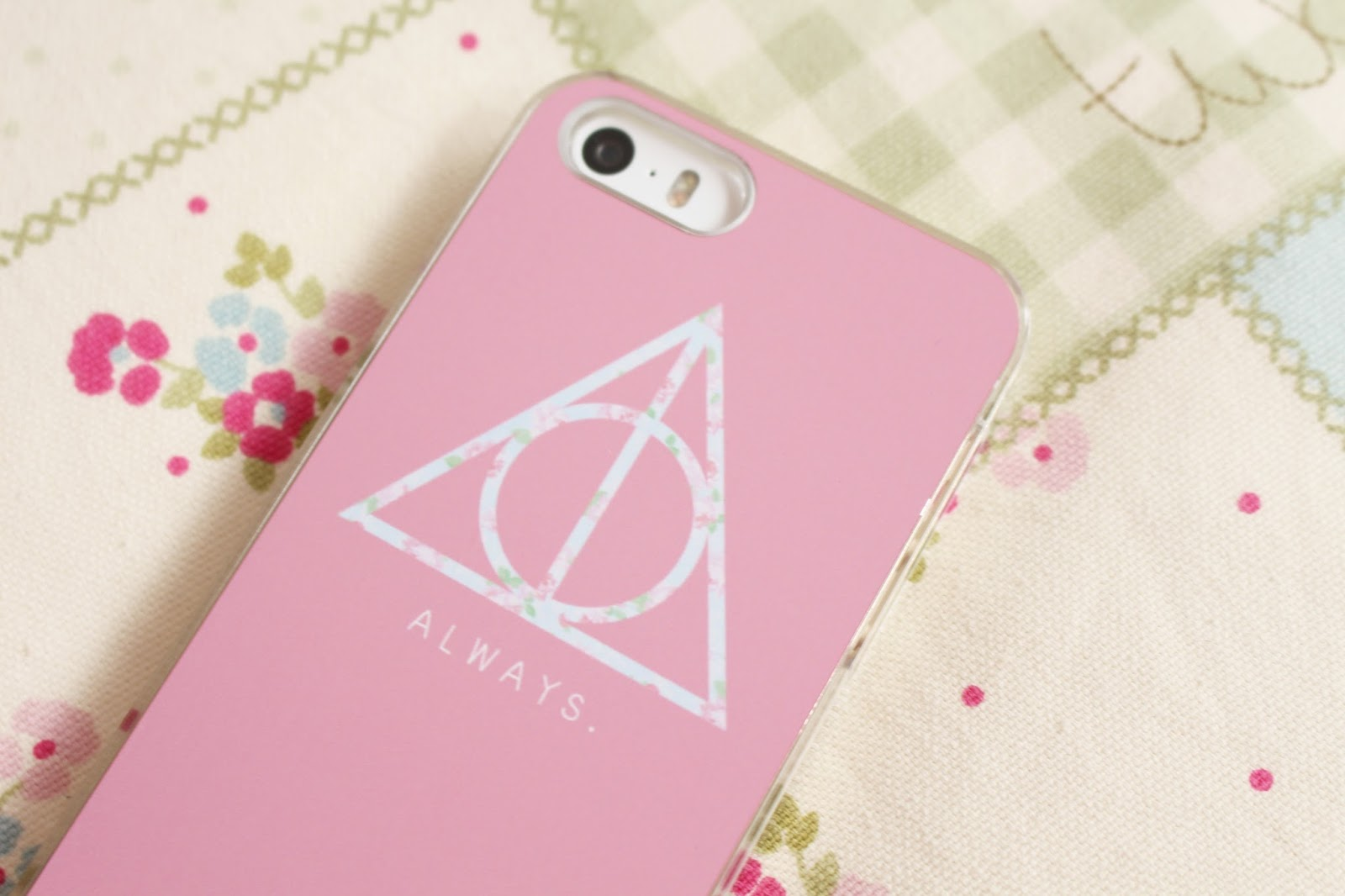 Hello Floral Harry Potter iPhone5 Phone Case