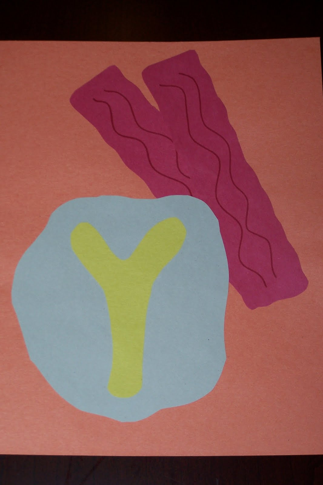 letter y crafts the princess and the tot letter crafts uppercase 23304 | 100 9976