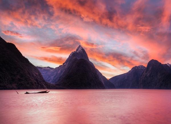 20 Best Samsung Galaxy S7 Edge HD Wallpapers sky mountain 16. Orange Sky