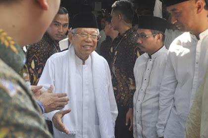 Maruf Amin Ungkap Sudah Ada Deal-Deal Tahap Awal Rekonsiliasi Jokowi - Prabowo