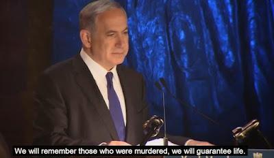 """Netanyahu: """"El antisemitismo no murió en el búnker con Hitler"""""""