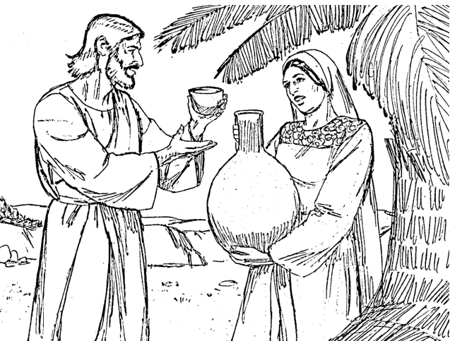 bible fun for kids jesus with the samaritan woman