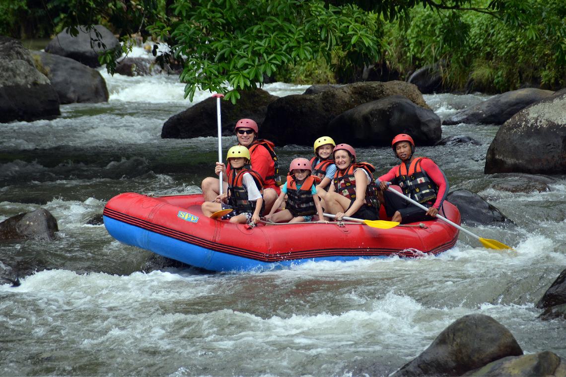 BaliTelaga Waja Rafting | Sunia Bali Tour
