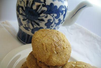 Cornmeal Pine Nut Cookies