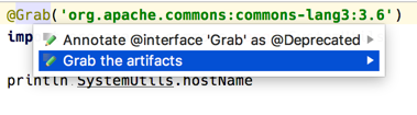 Groovy Goodness: Download Grab Dependencies In IntelliJ IDEA