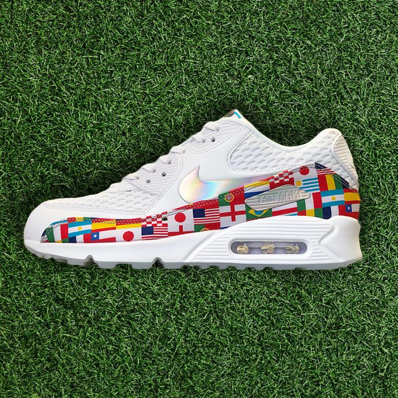 8006e65b0876 ... link  https   www.kickscrew.com detail 26636 Nike-Air-Max-90-NIC-QS  International-Flags AO5119-100   solecollector  dailysole  kicksonfire   nicekicks ...